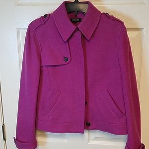 Pink Ralph Lauren Wool Jacket Size 12
